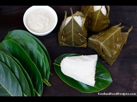 How to weave jackfruit leaves basket to make hittu, khotto, khotte kadubu. - YouTube