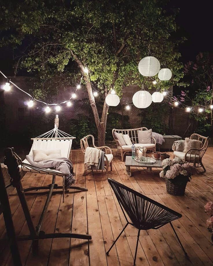 perfekter abendspot mit freunden.