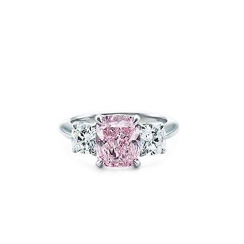Tiffany & Co. Platinum Fancy Intense Purplish Pink Diamond Ring UGH! This is my ring <3