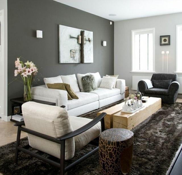 Die Graue Wandfarbe Im Wohnzimmer Top Trend Fur 2015 Wohnzimmer