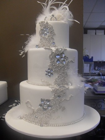 124 Best Wedding Cake Bling Images On Pinterest Cake