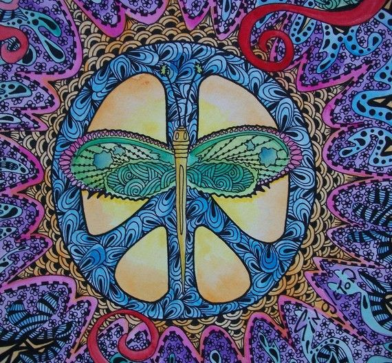 peace and wingsButterflies, Psychedelic Art, Wings, Colors, Peace Signs, Namaste, Dragons Fly, Hippie Art, Dragonflies