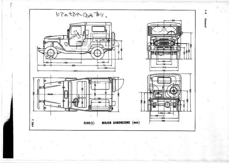 toyota land cruiser interior dimensions