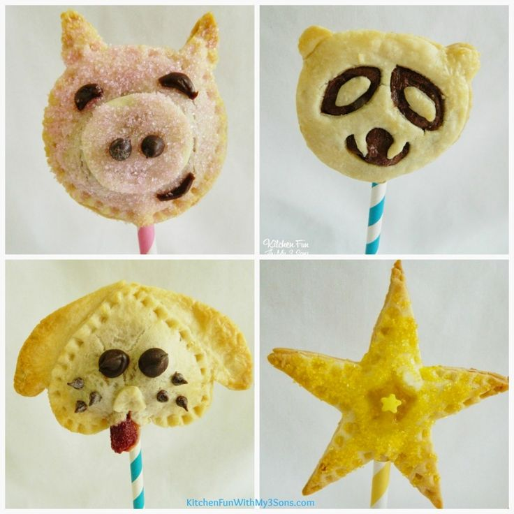 Piggy Pie Pops - Kitchen Fun With My 3 Sons