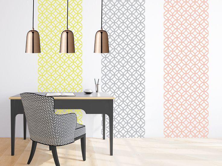 16 best papier peint scandinave images on pinterest. Black Bedroom Furniture Sets. Home Design Ideas