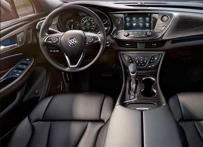 2019 Buick Envision interior