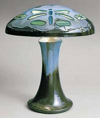 Fulper Pottery Vasekraft Lamp Circa 1911-1916.