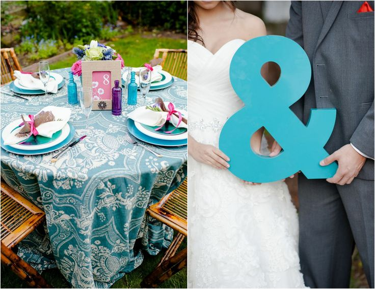 Bright & Bold Wedding Colors