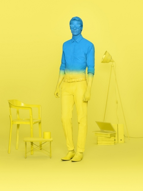 Color Blocking by Conor Cronin.: Design Inspiration, Conorcronin, Color Blocks, Graphics Design, Art Direction, Blue Yellow, Conor Cronin, Around The World, Photography