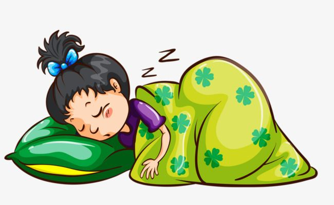 Sleeping Child Child Go To Bed Cartoon Png Transparent Clipart