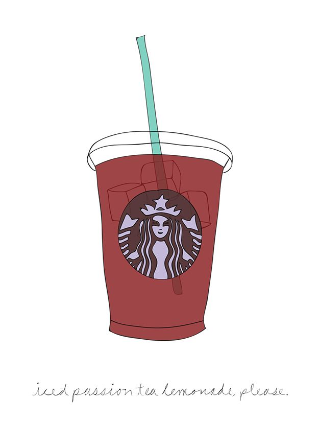 iced passion tea lemonade, please