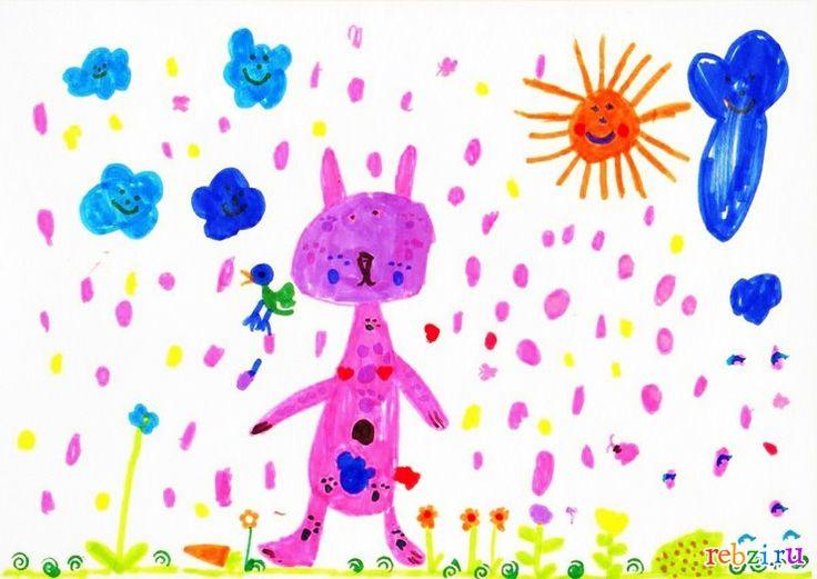 Детский рисунок: Грызунчик (Даша Анищенко, , 6 лет, Краснодар)