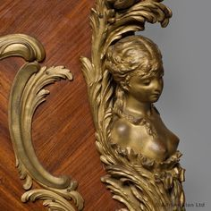 An Exceptional Gilt-Bronze Mounted Kingwood and Marquetry Double Bed