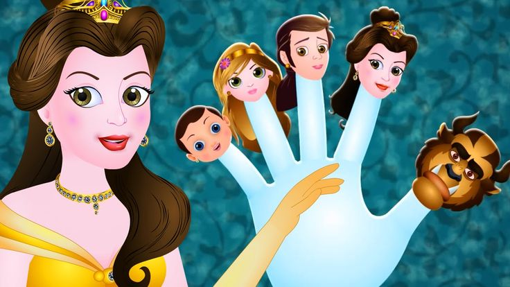 Finger Family | Beauty And The Beast | Nursery Rhymes For Children | By ...