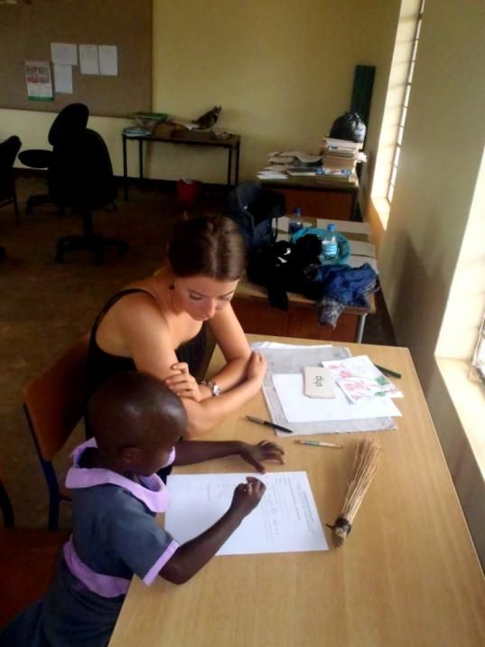 Undervisning Undervisning www.afrikaintouch.dk #MushembaFoundation #Tanzania #Afrika #Africa #Volunteer #Volontør