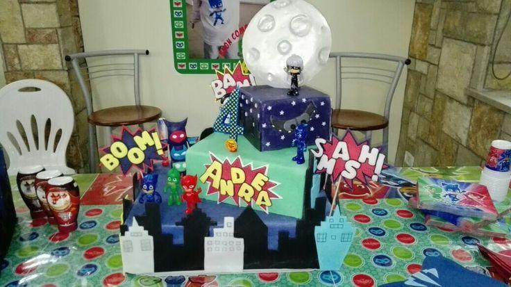 Pjmasks' cake