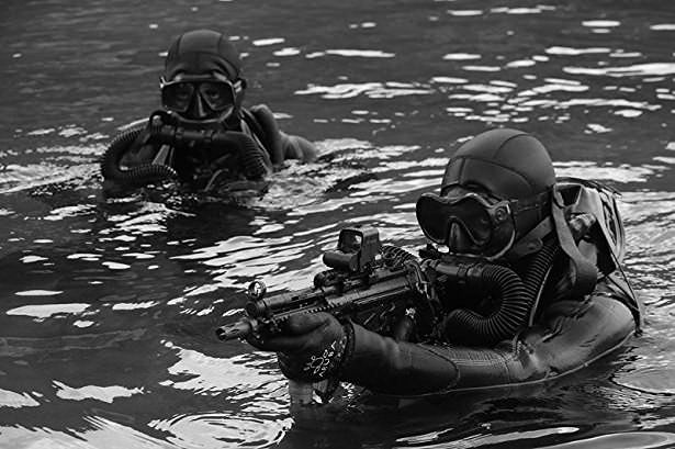 Turkish Special Forces - #Turkish #Navy #SAT #commandos #combat #divers