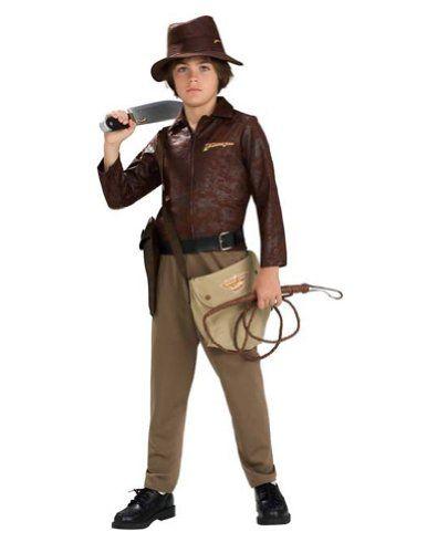 Kids-costume Indiana Jones Deluxe Child Medium Halloween Costume @ niftywarehouse.com