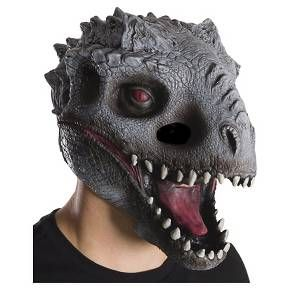• Made of 100% Polyester for a comfortable fit<br>• Set includes inflatable dino <br>• Spot clean only <br>• One size fits most <br><br>This Jurassic World Men's Inflatable T-Rex Costume is the only costume you'll ever need. With a fully inflatable bodysuit, you'll skip any bathroom lines with this realistic costume this Halloween.