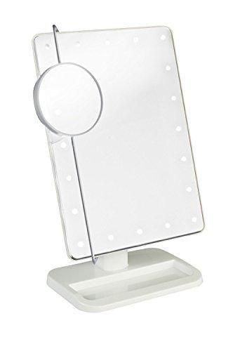Oferta: 14.99€ Dto: -63%. Comprar Ofertas de Cookey Espejo del Maquillaje Iluminado, Espejo Cosmético Encendido de la Vanidad con Movible 10x Ampliación 20 LED, Perfecto barato. ¡Mira las ofertas!