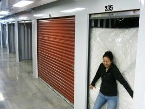 One World One Year shares its tips and tricks on how to store everything you own in a 5' x 10' storage unit.