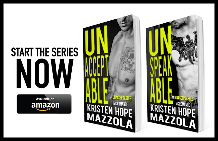 Unbreakable by Kristen Hope Mazzola is LIVE! Grab it at 99c before the price goes up on release day! Genre: MC Contemporary Romance *CAN BE READ STANDALONE* BUY IT NOW! Amazon US: Amazon UK: Synops…