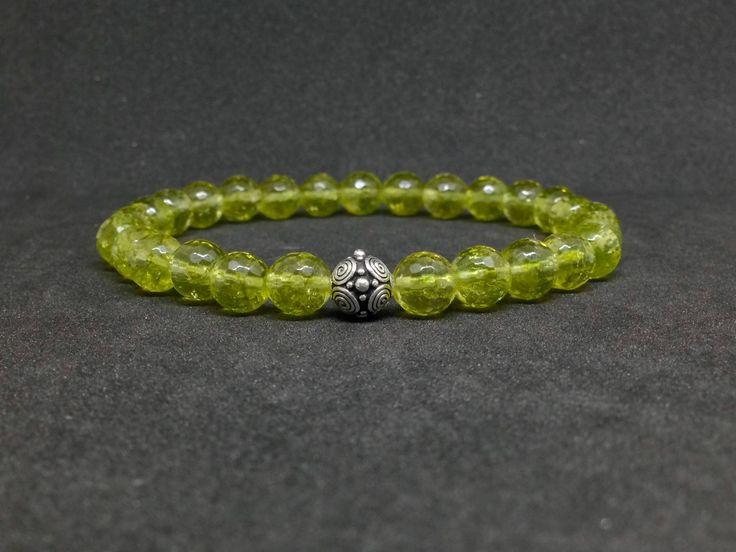 Pulsera de Moldavite para hombre,piedras semipreciosas,joyas de moldavite,pulsera de piedras,piedras de moldavite,regalo para hombre,regalos de DeMaiCreaciones en Etsy