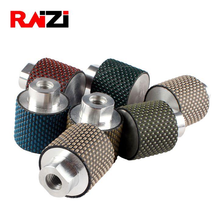 Raizi 2 Inch Diamond Dry Polishing Drum Wheels For Bowl Holes On