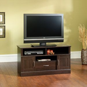 Mainstays Cinnamon Cherry TV Stand, for TVs up to 42""