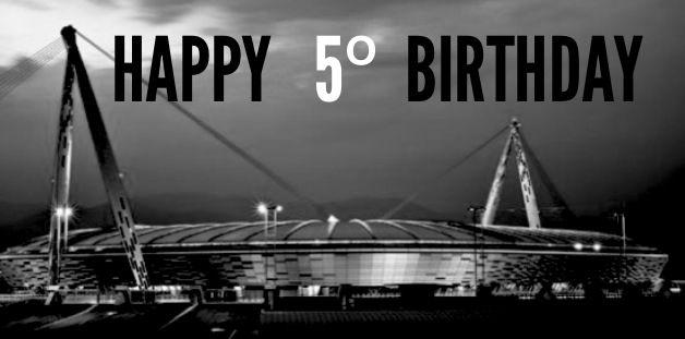 Happy birthday Juventus Stadium