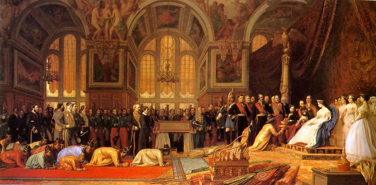 The Reception of the Siamese Ambassadors at Fontainebleau by Jean-Léon Gérôme