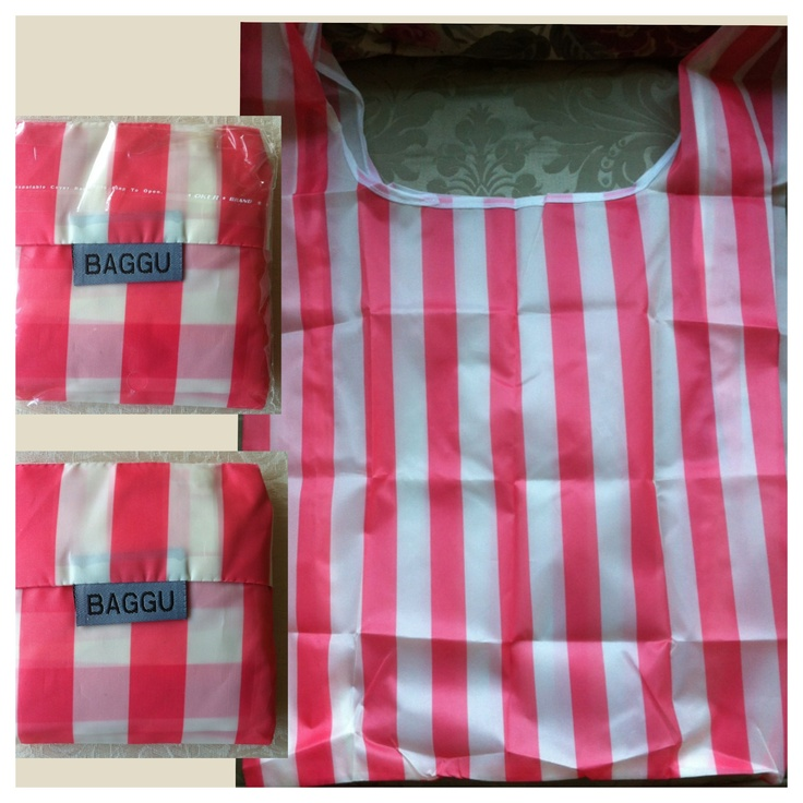 BAGGU - Candy Stripe - AUD $6.00 + postage or local pick up available.