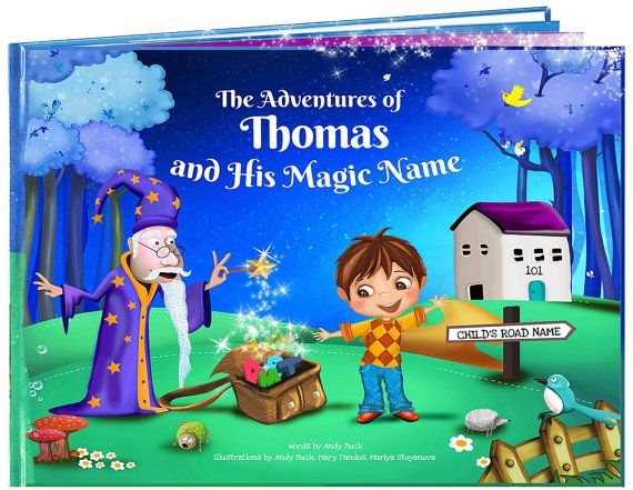 Personalized Children's Gifts - Children's Book, Gift for Niece, Nephew, Kids Story Books, Personalised Kids Gifts - NEXT DAY DISPATCHPersonalized Children's Gifts - A Beautiful Personalised Children's Story Book for Boys or Girls.    Make a child the star of there very own personalised story book.    This is no ordinary children's book, every personalised book is entirely unique as each illustration and rhyming story is based on the letters of the child's name.