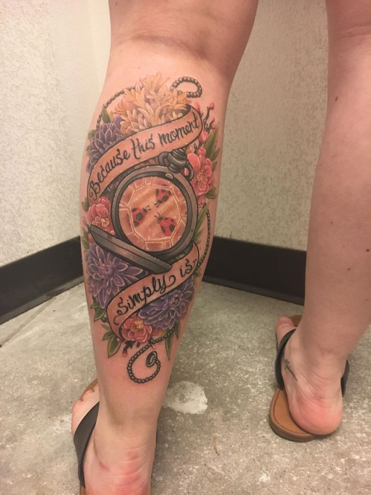 My (super fresh) Slaughterhouse-Five inspired piece done by Angela Bailey at Studio XIII Tattoo in Cocoa FL