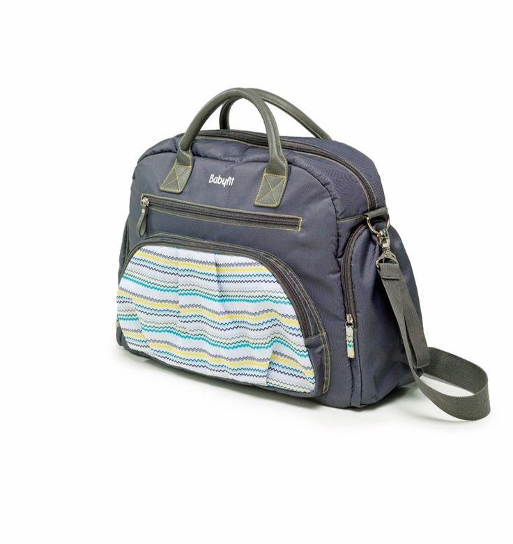 Sac à langer ZigZag : pour accompagner les parents et les petits aventuriers lors de leurs sorties. Il contient de nombreuses poches, un porte-biberon isotherme ainsi qu'un tapis à langer nomade. En avant pour la balade !