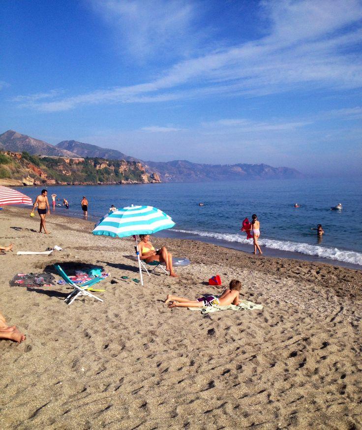 Burrianna Beach, Nerja, Costa Del Sol