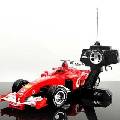 1/10 Ölçekli Uzaktan Kumandalı RC F1 Yarış Arabası