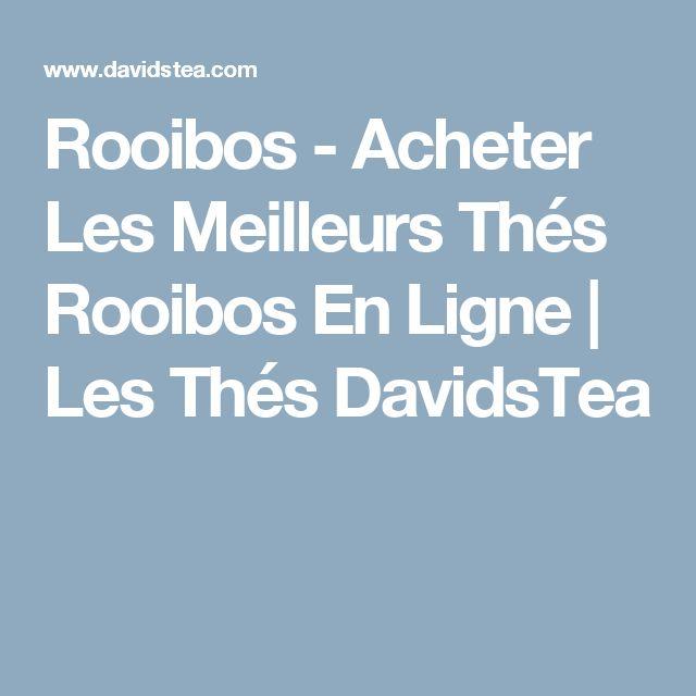Rooibos - Acheter Les Meilleurs Thés Rooibos En Ligne   Les Thés DavidsTea