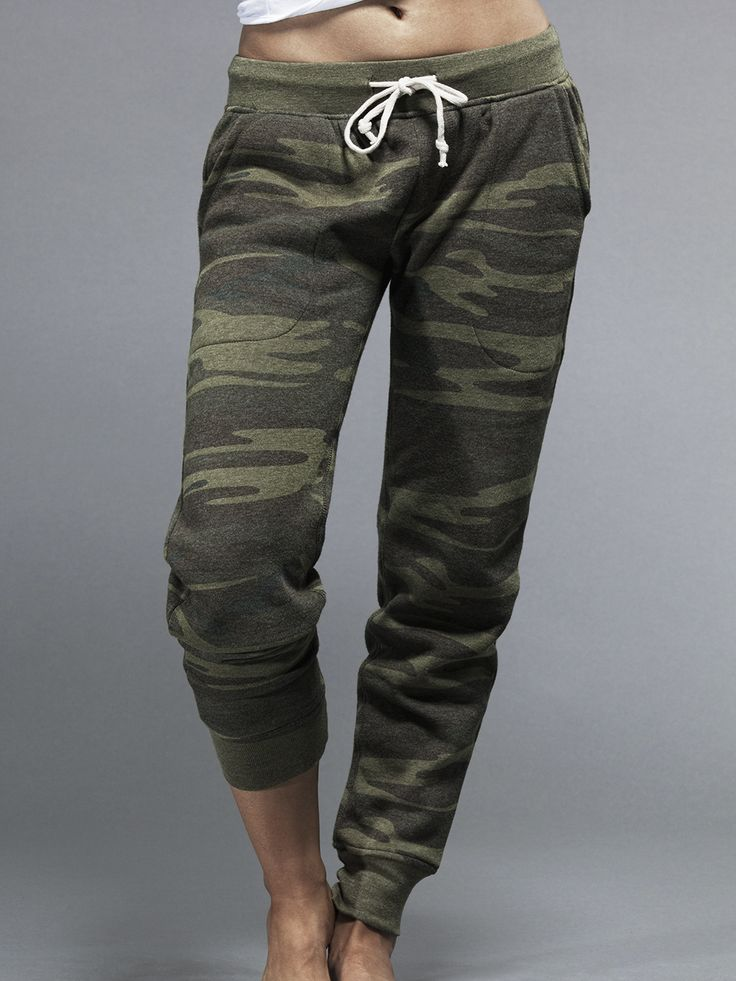 Joggers aren't workout pants, but still. ROFL | Alternative Apparel Jogger Pant in Camo