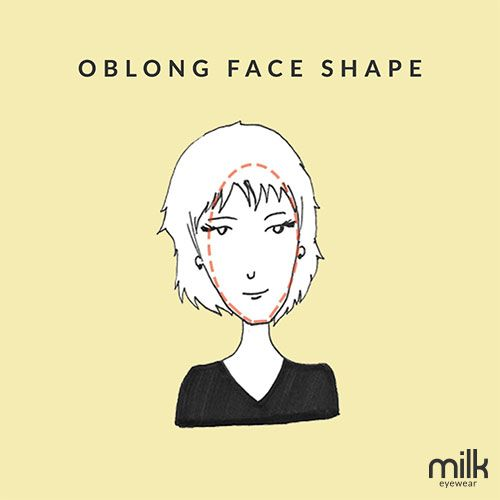 71 best oblong face images on pinterest oblong face shape face oblong face shapes glasses face shape guide urmus Gallery