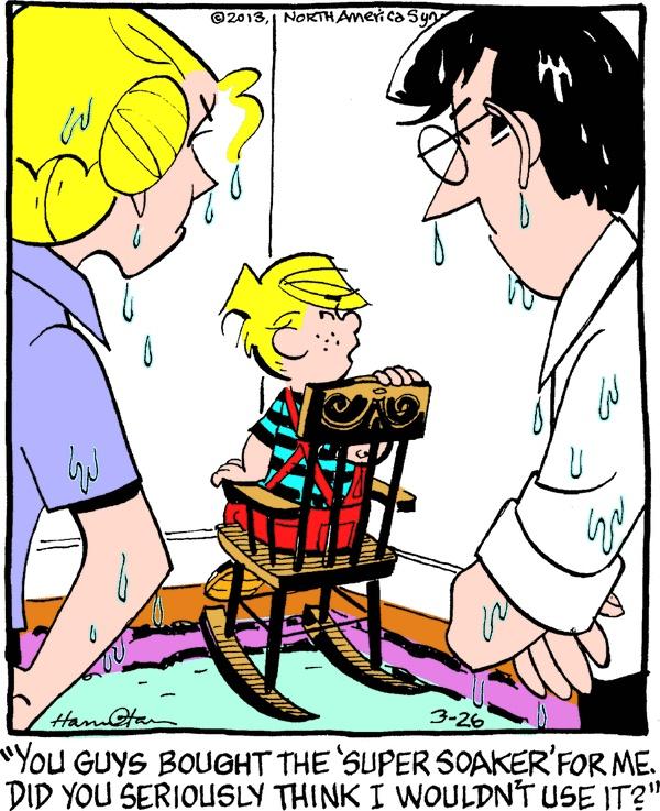 Dennis the Menace Cartoon for Mar/26/2013