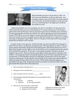 CC2 wk24 Nelson Mandela biography for children