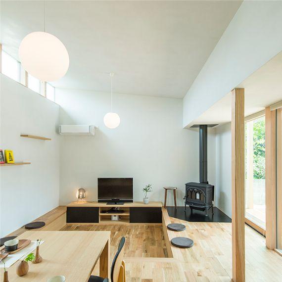 CODE21 陽を囲む家 | 熊本の平屋、注文住宅|ホームパーティ|HOMEPARTY
