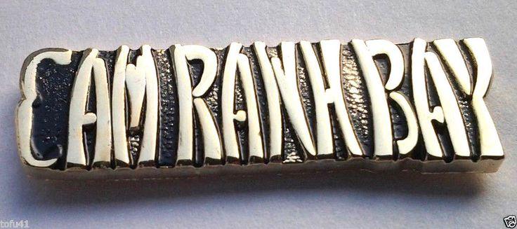 CAM RANH BAY Military VIETNAM Veteran Hat Pin P15065 EE