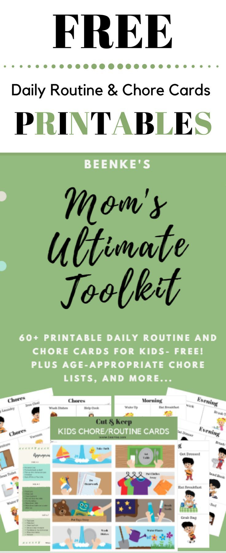 Free Printables of Daily Routine Schedule and Chore Charts. Your children