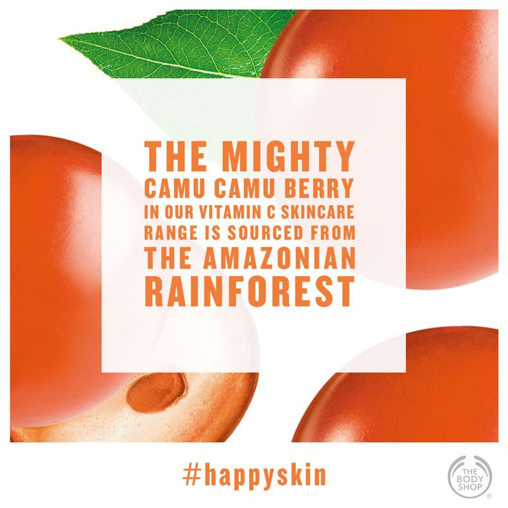 Did you know camu camu berries are traditionally harvested on canoes in central Peru during the rainy season? #fact #happyskin #vitaminc #healthyglow  http://www.thebodyshop.co.za/store/list/category/vitamin-c