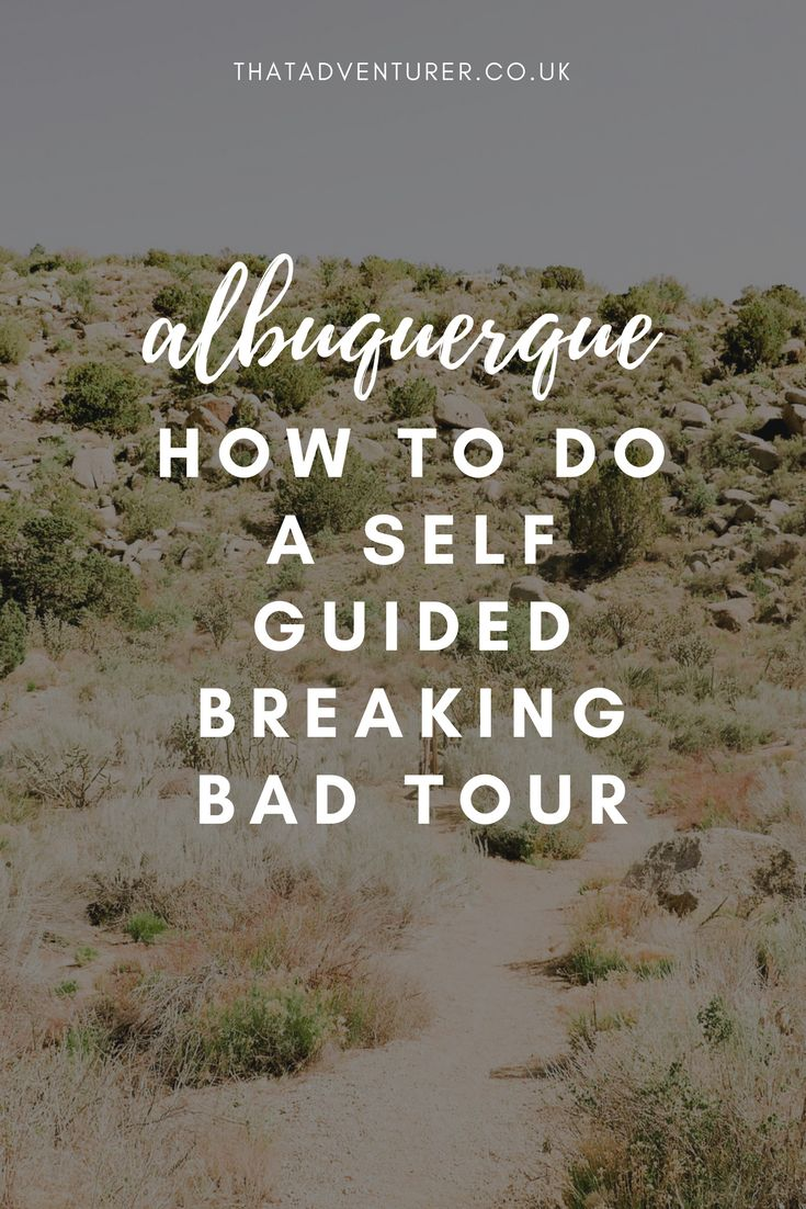 Fan of Breaking Bad? Head to Albuquerque and do a self guided Breaking Bad tour by visiting these 13 filming destinations from the show.  self guided breaking bad tour in albuquerque