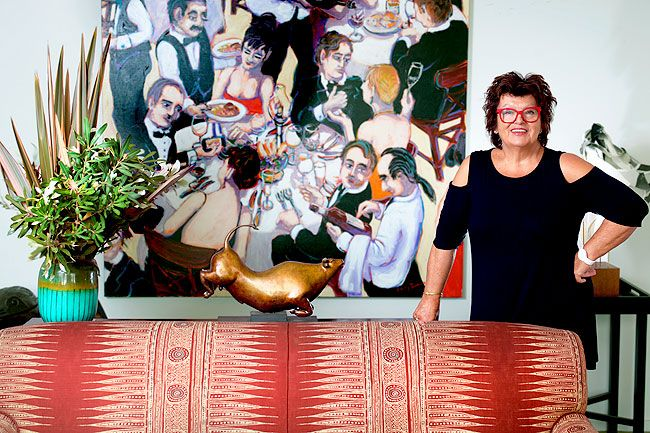 At home with the lady of Lake House, Alla Wolf-Tasker