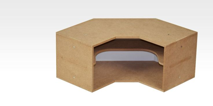 Corner Shelves Module (OM04) - perfect to organize your work place by AllScalesModels on Etsy
