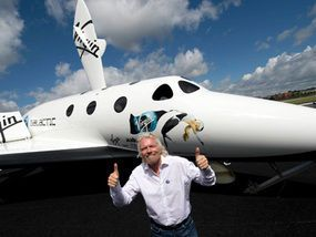 Sir Richard Branson Virgin Galactic: Spaces Tourism, Success People, Branson Virgin, Branson Trek, Virgin Galact, Flight Sets, Spaces Flight, Galact Spaces, Virginrichard Branson